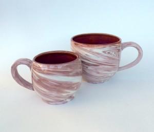 Swirled Cups